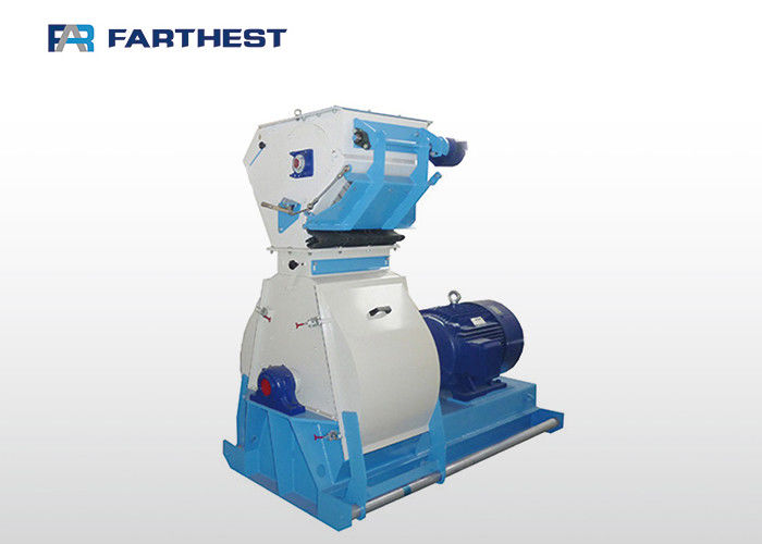 Steel Blade Wheat Corn Hammer Mill Grinder For Producing Animal Feed