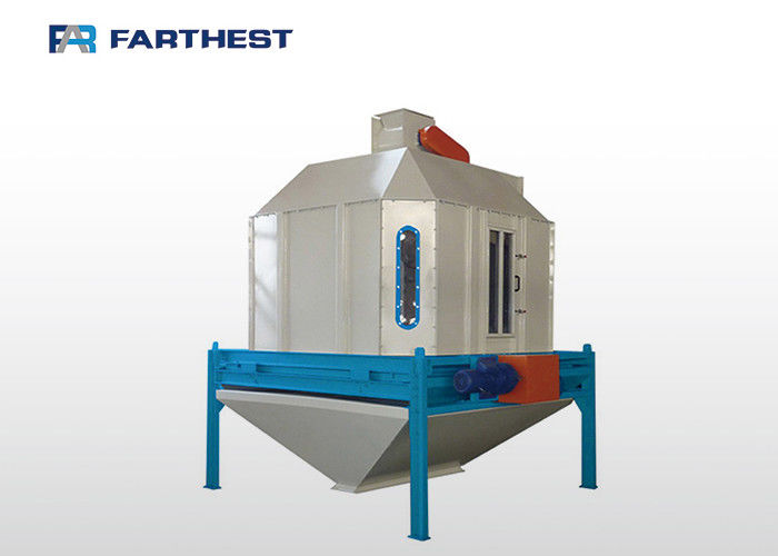 CE Approved Poultry Feed Processing Plant Counterflow Hot Air Cooler 1.5KW