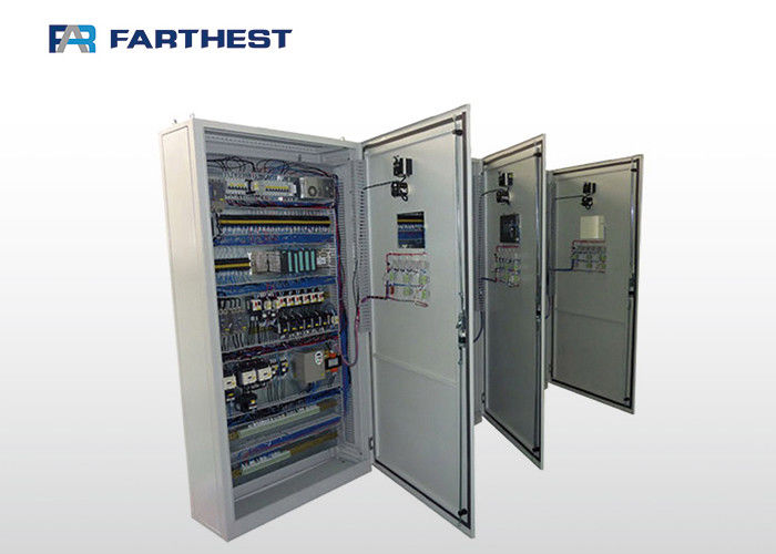 CE Passed Industrial Electrical Control Panels For Poultry Farm Feed Line