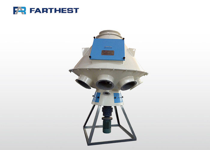 380V TFPX Series Rotary Pipe Distributor For Fish Feed Pellet Processing