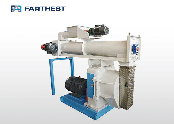 High Accuracy Livestock Pellet Making Machine Animal Feed Pellets 2 - 7Tph