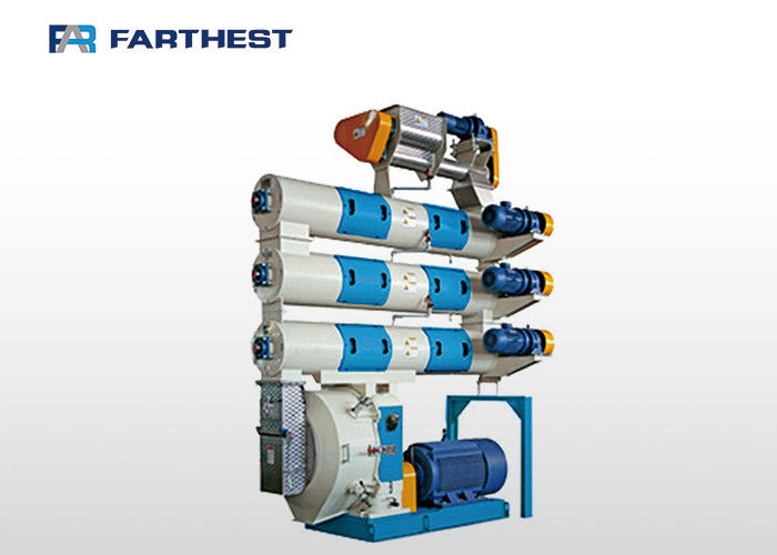 Multiple Conditioners Feed Processing Machine For Vannamei Shrimp Feed