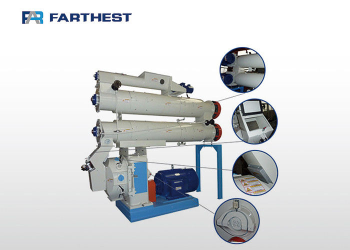 Catfish Farm Pellet Making Machine , Fish Feed Pellet Production Equipment