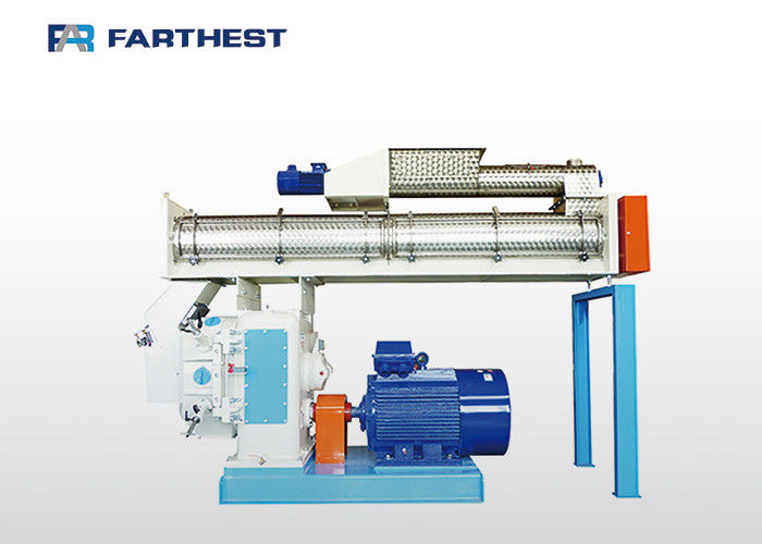 Calf Feeding Fodder Pellet Making Machine Variable Pitch Anti Bridging Structure