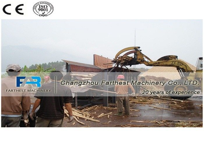 Wood Industry Biomass Energy Machine Debarker Peeler For Pine Wood Logs