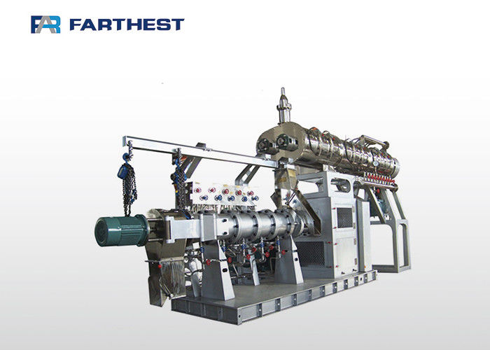 Extrusion Bulking Fish Feed Making Machine For Producing Floating Fish Feed