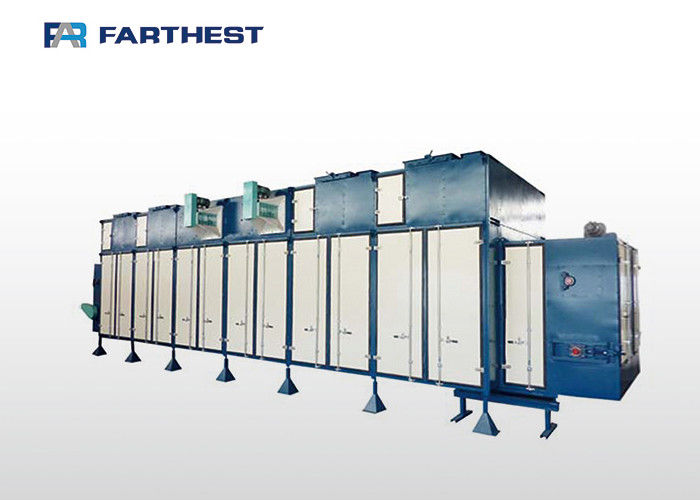 Horizontal Double Layer Belt Dryer Feed Extruder Machine For Extruded Crab Feed