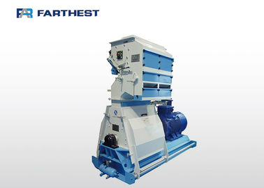 China Palm Tree Leaves Hammer Mill Machine Siemens Motor Drived Steel Material factory
