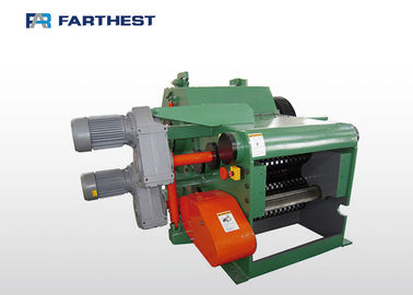 China 15hp Biomass Energy Wood Chipper Machine To Splitting Tree Branches 4700kg Weight factory