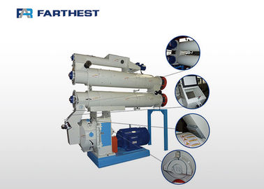 China Catfish Farm Pellet Making Machine , Fish Feed Pellet Production Equipment factory