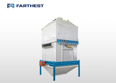 China Aqua Shrimp Fish Poultry Feed Mill Machine Feed Stabilizer Cooler Saving Space factory