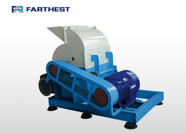China Small Scale Biomass Press Machine Industrial Hammer Mill Steel Material factory