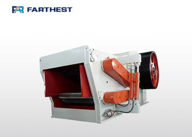 High Capacity Biomass Energy Machine Tree Log Flaker Wood Chipping For Fuel Pellet