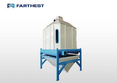 Aqua Fish Feed Production Line Imported Siemens Motorized Swing Cooling Machine