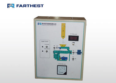 Feed Industry Industrial Electrical Control Panels Touch Screen PLC / MCC Type