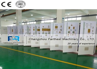 China Feed Processing Industrial Electrical Control Panels Batching Plant Computer Control factory
