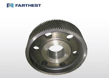 Customized Diameter Animal Feed Machine Spare Parts , Gear Spare Parts