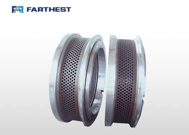 ISO9001 Pellet Die Spare Parts Ring Type Resist Abrasion Breakage Resistance