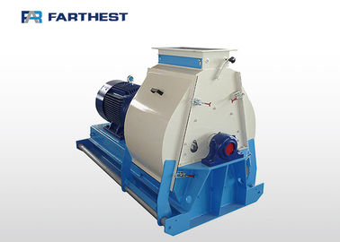 Different Types Raw Materials Hammer Mill Machine Of Animal Feed One Year Warranty