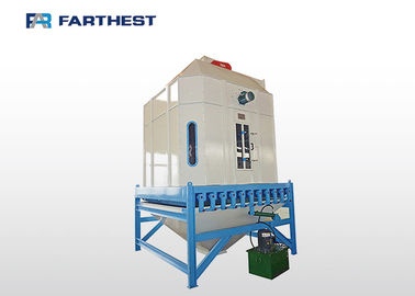CE Certified Floating Pellet Cooler Poultry Feed Plant For Carp Fish Feed Production