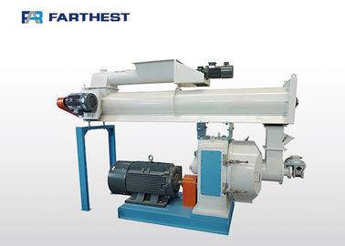 Small Professional Ring Die Grass Feed Pellet Mill With 55-160kw Power