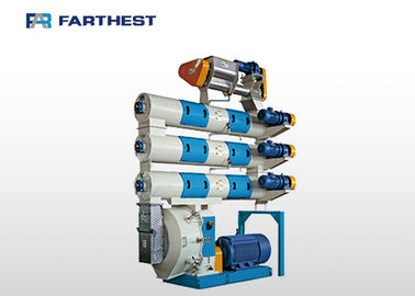 Steel Prawn Feed Pellet Machine , Pellet Mill Machine 1 Year Warranty